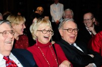 Entertaining Mr. and Mrs. Buffett, in Omaha, Nebraska