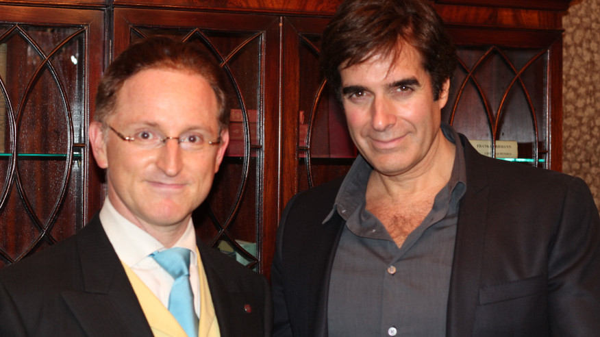 Large Copperfield and Cohen