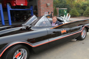 I drove around Detroit in the 1966 Batmobile