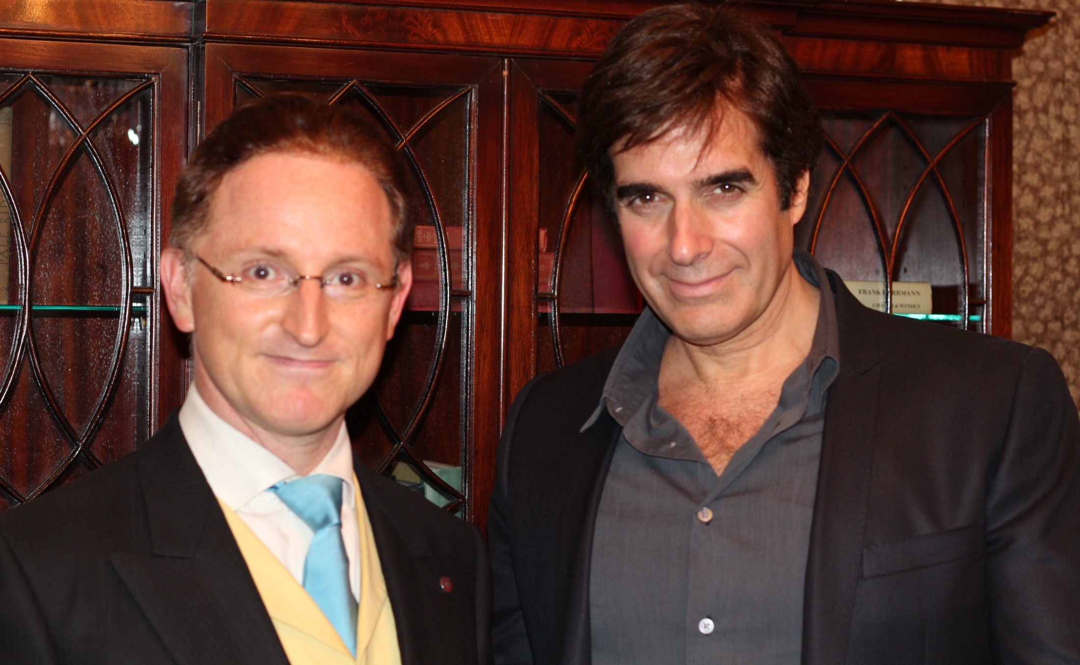 David copperfield calls chamber magic a masterful performance may 28 2012 m4hsunfo