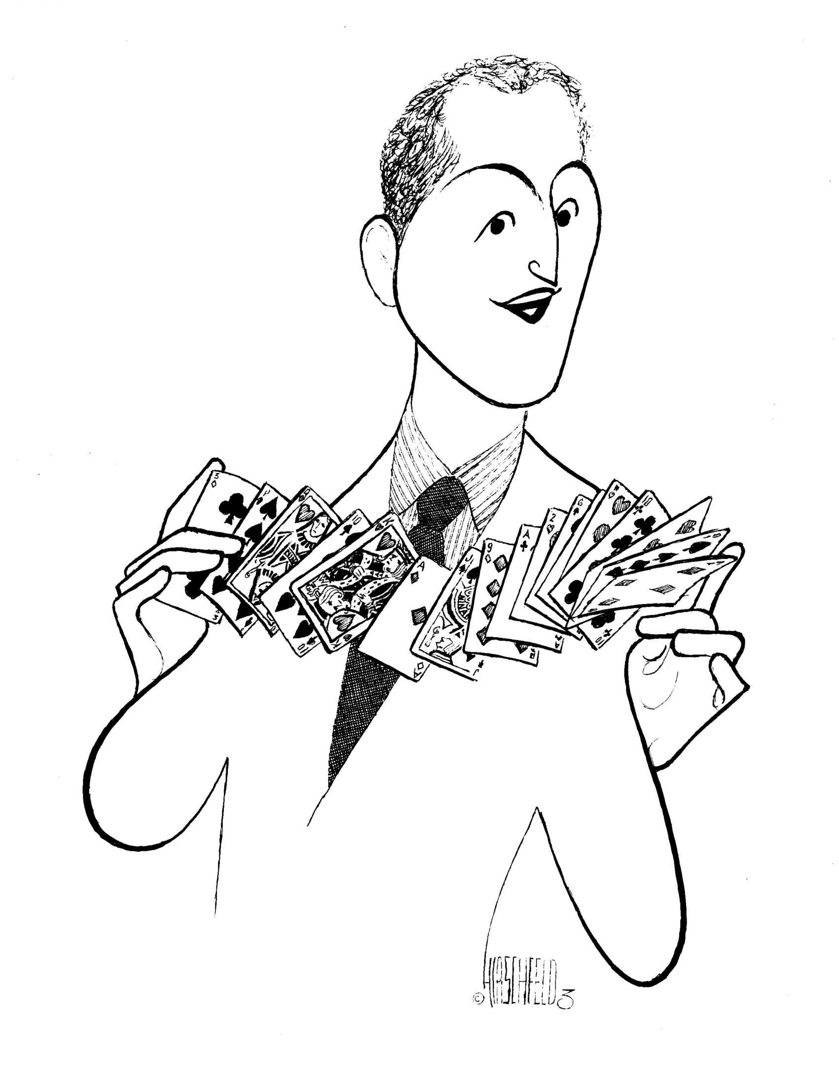 Al Hirschfelds Magicians Updated Chamber Magic